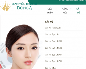 chi phí phẫu thuật cắt mí mắt 1